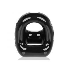 OXBALLS 360 Cock Ring and Ball Sling - Black