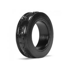OXBALLS Pig-Ring Silicone Cockring - Black