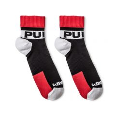 Pump! All-Sport Falcon Socks 2-Pack - Black Red White
