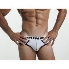 Pump! DropKick Brief - White