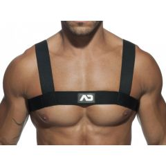 ADDICTED Basic Elastic Harness - Black