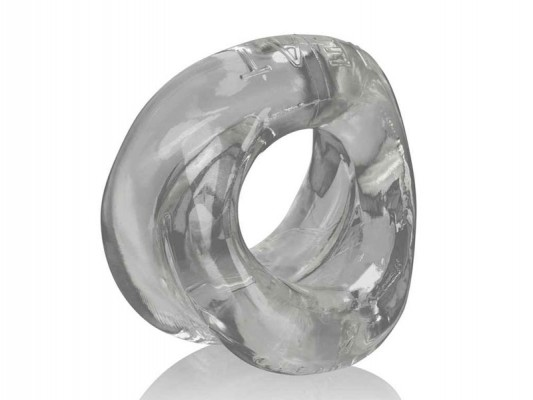 Oxballs Meat Bigger Bulge Cock Ring - Clear  Bent Ltd-4089