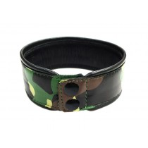 Leather Camo Arm Band