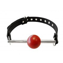 Ball Gag with Stainless Rod