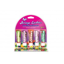 ID Lube: Juicy Lube Tube - (12g/12ml) 5 pack