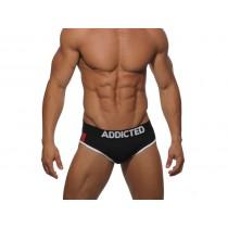 ADDICTED Pack Up Sport Brief - Black