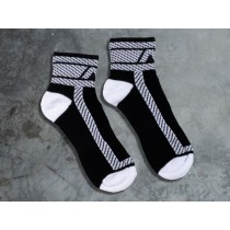 ADDICTED Fetish Ankle Sock - White