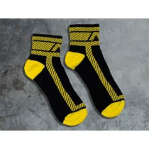ADDICTED Fetish Ankle Sock - Yellow