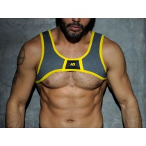ADDICTED Fetish Spacer Harness - Yellow