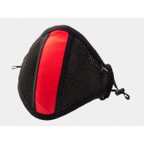 Barcode Lieutenant Skyler Face Mask - Black Red