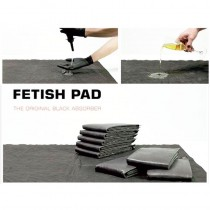 Fetish Pad  the Original Black Absorber - 15 Pack