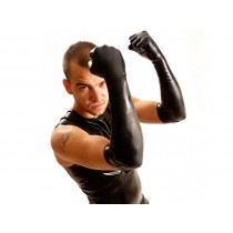 Fisting Rubber Gloves Elbow - Black