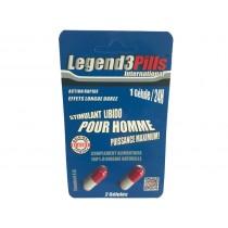 Legend3Pills Erection Pills - 2 pills