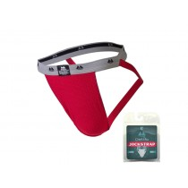 MM Original Edition Jockstrap - 1 inch - Red