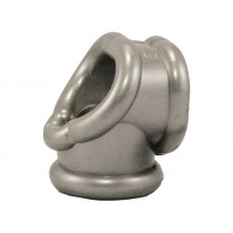 OXBALLS Cocksling Cock Ring (Silver)