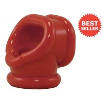 OXBALLS Cocksling Cock Ring (Red)