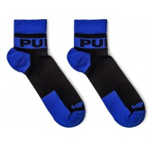Pump! All-Sport Panther Socks 2-Pack - Black Blue
