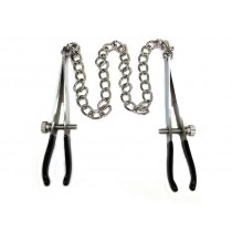 Stainless Steel Nipple Chain Clamps