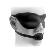 Fetish Fantasy Elite Ball Gag & Mask Small