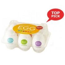 Tenga Masturbator Egg Variety Pack