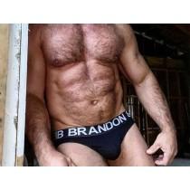 Bill & Brandon Brief - Black