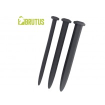 BRUTUS Nailed it 3 Piece Smooth Silicone Sounds Set - Black