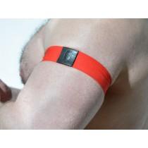 DARKROOM Elastic Armband - Red - set of 2