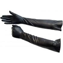 Elbow Length Rubber Gloves - Size Medium