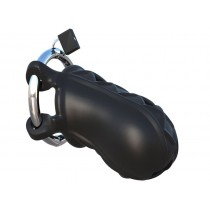 Extreme Silicone Cock Blocker - Black