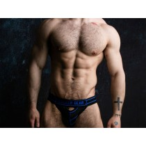 LOCKER GEAR Jockstrap Front Opening - Blue