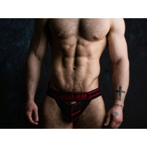 LOCKER GEAR Jockstrap Front Opening - Red