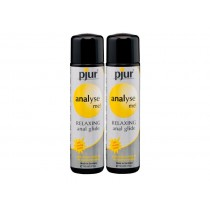 Pjur Analyse Me Anal Glide Twin Pack - (100ml)