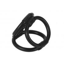 Tri Ring Cock Cage (Black)