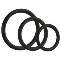 CalExotics Tri-Rings 3 Piece Cock Ring Set