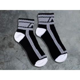 ADDICTED Fetish Ankle Sock - White