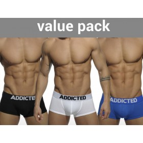 ADDICTED My Basic 3 Pack Boxer - 3 Colours