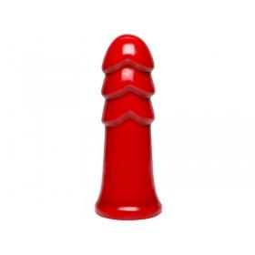 American Bombshell B7 Warhead Anal Dildo - 7 inches - Red