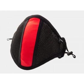 Barcode Lieutenant Skyler Face Mask - Black Red