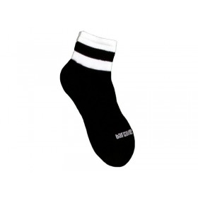 Barcode Socks Petty  - Black White - S/M