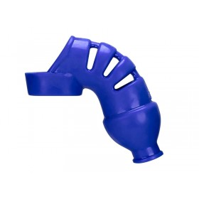 Hunkyjunk Lockdown Chastity Device - Cobalt Blue