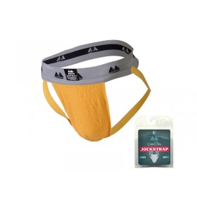 MM Original Edition Jockstrap - 2 inch - Yellow