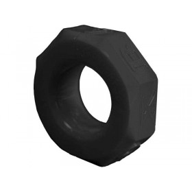 OXBALLS Screwballs Cock Ring (Black)
