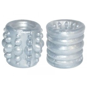 OXBALLS Slug-1 Reversible Ball Stretcher (Silver)