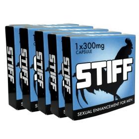 STIFF Erection Pills - 5 Capsules