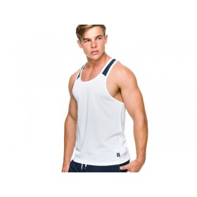 Teamm8 Cross Tank - White