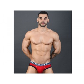 Andrew Christian CoolFlex Modal Brief w/Show-it - Red