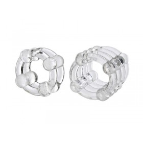 Colt Enhancer Cock Rings - Clear