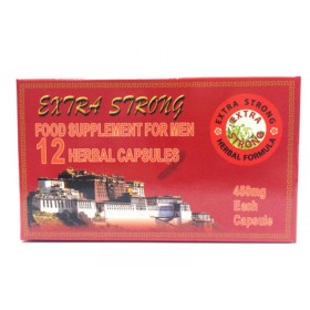 Extra Strong Tonic Male Potency Pills 12 Pack
