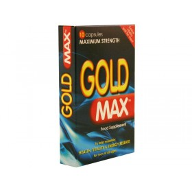 Gold Max Pills - 10 Capsules (450mg pill pack)