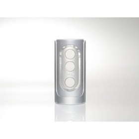 Tenga Masturbator - Flip Hole - Silver